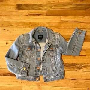 Gap Kids Girls Denim Jacket size S